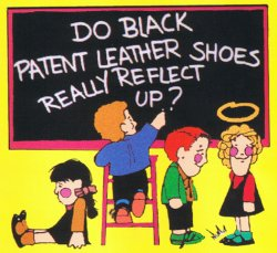 Do Black Patent Leather Shoes Really Reflect Up Synopsis